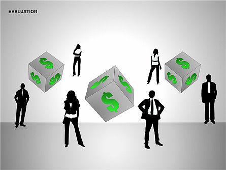 Evaluation Shapes, Slide 11, 00144, Shapes — PoweredTemplate.com