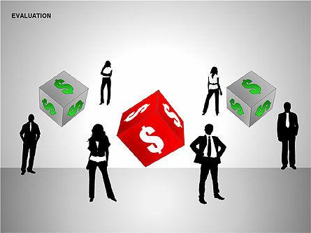 Evaluation Shapes, Slide 12, 00144, Shapes — PoweredTemplate.com