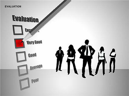 Evaluation Shapes, Slide 5, 00144, Shapes — PoweredTemplate.com