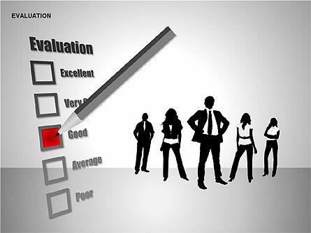 Evaluation Shapes, Slide 6, 00144, Shapes — PoweredTemplate.com