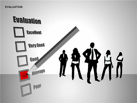 Evaluation Shapes, Slide 7, 00144, Shapes — PoweredTemplate.com