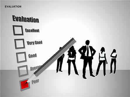 Evaluation Shapes, Slide 8, 00144, Shapes — PoweredTemplate.com