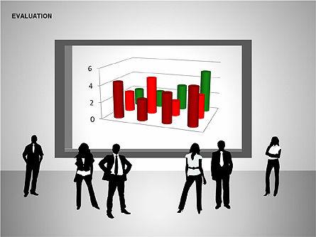 Evaluation Shapes, Slide 9, 00144, Shapes — PoweredTemplate.com