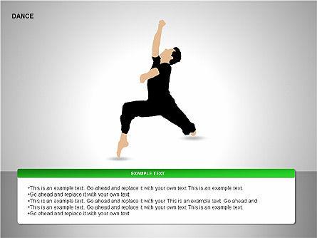 Dance Shapes, Slide 10, 00147, Shapes — PoweredTemplate.com