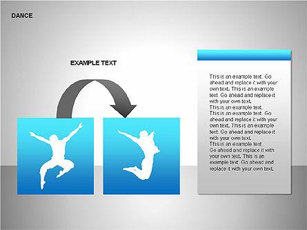 Dance Shapes, Slide 11, 00147, Shapes — PoweredTemplate.com