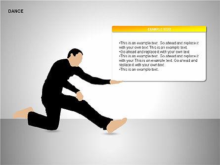 Dance Shapes, Slide 5, 00147, Shapes — PoweredTemplate.com
