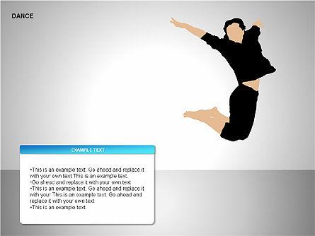 Dance Shapes, Slide 7, 00147, Shapes — PoweredTemplate.com