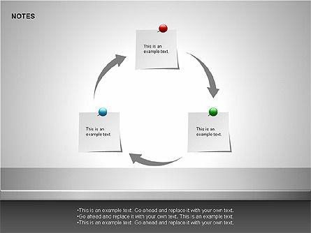Notes Shapes & Icons, Slide 9, 00150, Shapes — PoweredTemplate.com