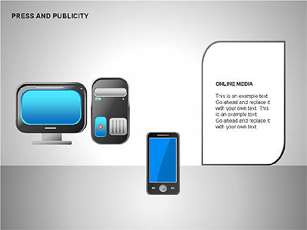 Press & Publicity Diagrams Slide 3