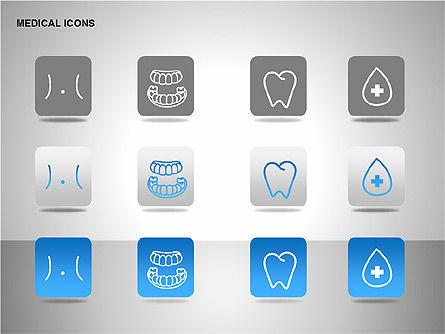 Medical Icons, Slide 10, 00153, Icons — PoweredTemplate.com