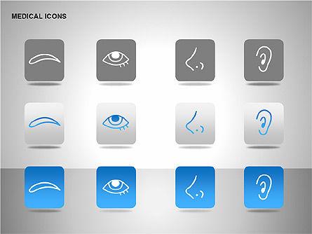Medical Icons, Slide 14, 00153, Icons — PoweredTemplate.com