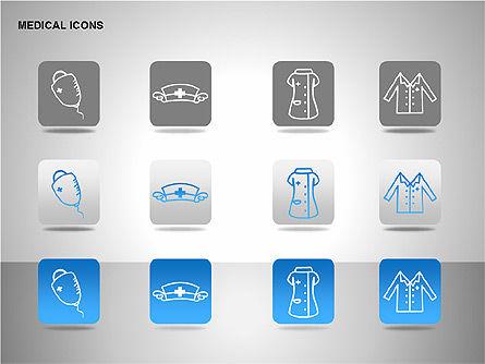 Medical Icons, Slide 15, 00153, Icons — PoweredTemplate.com