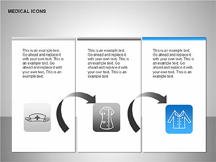 Medical Icons, Slide 3, 00153, Icons — PoweredTemplate.com
