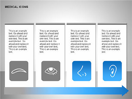 Medical Icons, Slide 4, 00153, Icons — PoweredTemplate.com