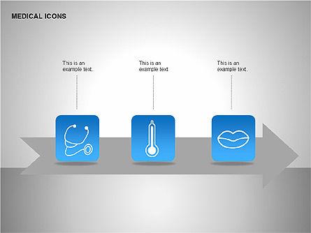 Medical Icons, Slide 5, 00153, Icons — PoweredTemplate.com