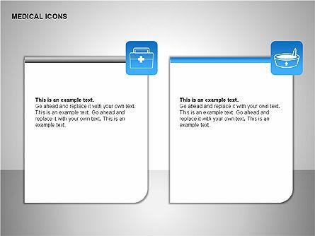 Medical Icons, Slide 7, 00153, Icons — PoweredTemplate.com