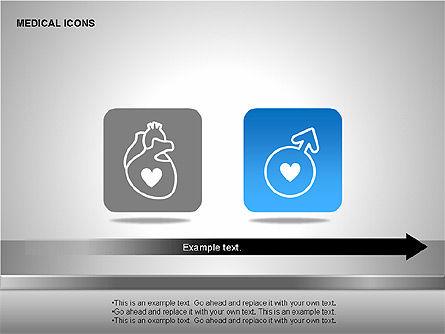 Medical Icons, Slide 8, 00153, Icons — PoweredTemplate.com