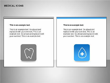 Medical Icons, Slide 9, 00153, Icons — PoweredTemplate.com