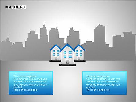 Real Estate Shapes and Diagrams, Slide 14, 00154, Shapes — PoweredTemplate.com