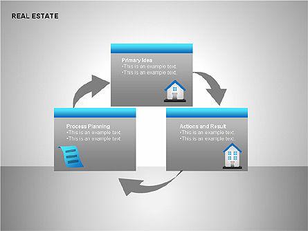 Real Estate Shapes and Diagrams, Slide 15, 00154, Shapes — PoweredTemplate.com