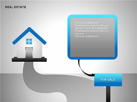 Real Estate Shapes and Diagrams, Slide 6, 00154, Shapes — PoweredTemplate.com