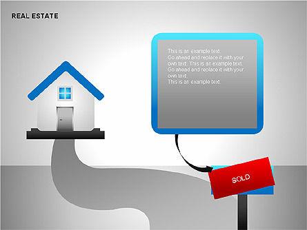 Real Estate Shapes and Diagrams, Slide 7, 00154, Shapes — PoweredTemplate.com
