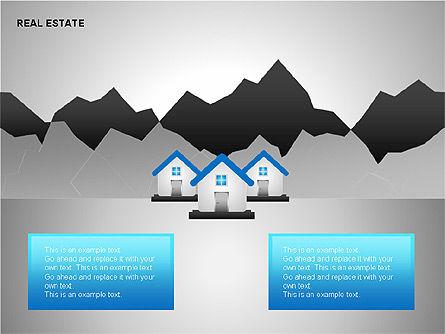 Real Estate Shapes and Diagrams, Slide 9, 00154, Shapes — PoweredTemplate.com