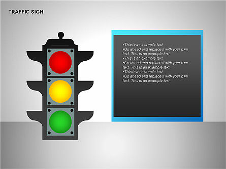 Traffic Signs, 00155, Shapes — PoweredTemplate.com
