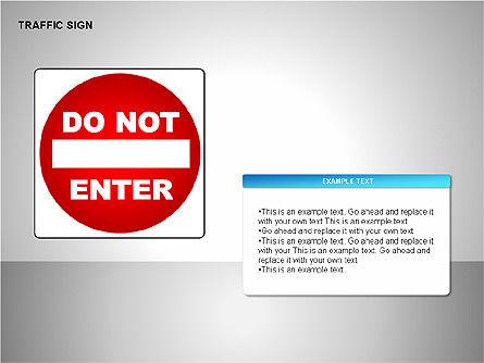 Traffic Signs, Slide 11, 00155, Shapes — PoweredTemplate.com