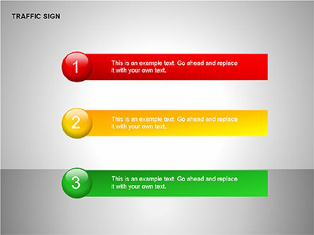 Traffic Signs, Slide 14, 00155, Shapes — PoweredTemplate.com