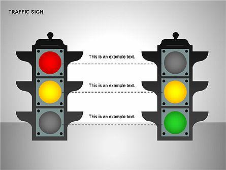 Traffic Signs, Slide 15, 00155, Shapes — PoweredTemplate.com