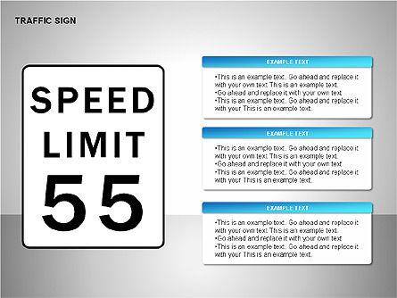 Traffic Signs, Slide 16, 00155, Shapes — PoweredTemplate.com