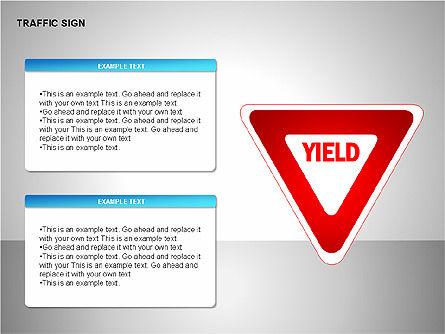 Traffic Signs, Slide 17, 00155, Shapes — PoweredTemplate.com