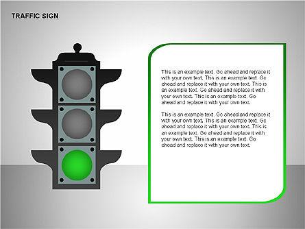 Traffic Signs, Slide 5, 00155, Shapes — PoweredTemplate.com