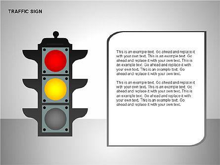 Traffic Signs, Slide 6, 00155, Shapes — PoweredTemplate.com