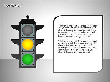 Traffic Signs, Slide 7, 00155, Shapes — PoweredTemplate.com