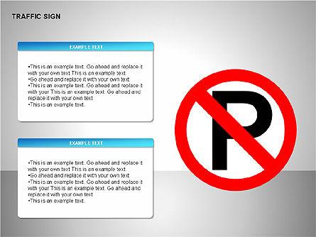 Traffic Signs, Slide 8, 00155, Shapes — PoweredTemplate.com