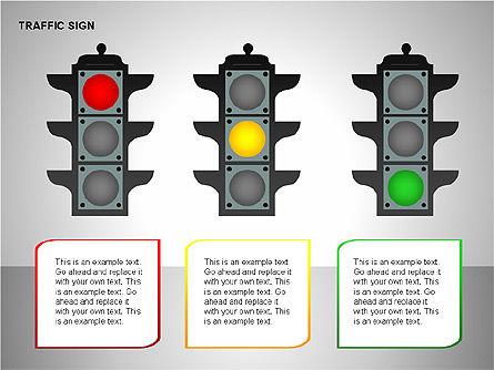Traffic Signs, Slide 9, 00155, Shapes — PoweredTemplate.com