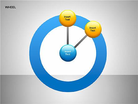 Wheel Diagrams Collection, Slide 14, 00159, Pie Charts — PoweredTemplate.com