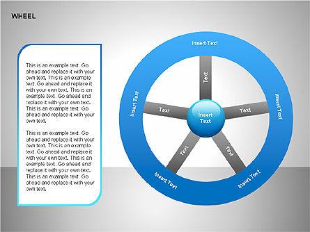 Wheel Diagrams Collection, Slide 6, 00159, Pie Charts — PoweredTemplate.com