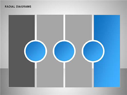 Radial & Matrix Charts, Slide 12, 00160, Matrix Charts — PoweredTemplate.com