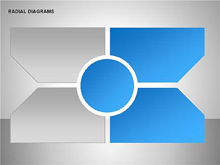Radial & Matrix Charts, Slide 14, 00160, Matrix Charts — PoweredTemplate.com