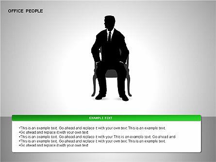 Business Shapes, Slide 10, 00168, Shapes — PoweredTemplate.com