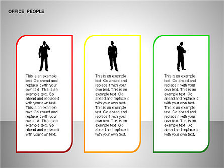 Business Shapes, Slide 11, 00168, Shapes — PoweredTemplate.com