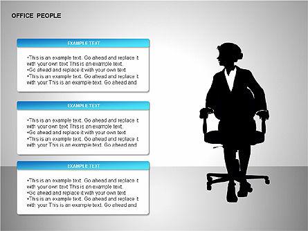 Business Shapes, Slide 12, 00168, Shapes — PoweredTemplate.com