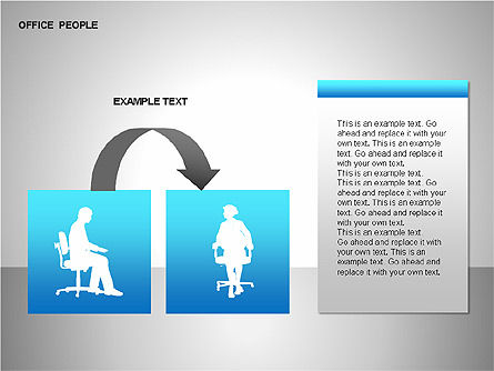 Business Shapes, Slide 13, 00168, Shapes — PoweredTemplate.com