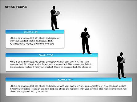 Business Shapes, Slide 14, 00168, Shapes — PoweredTemplate.com