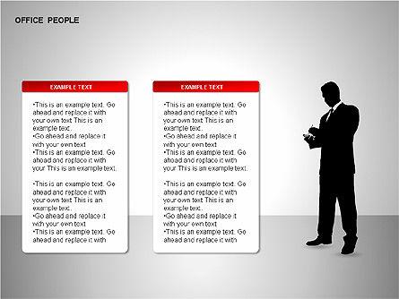 Business Shapes, Slide 15, 00168, Shapes — PoweredTemplate.com