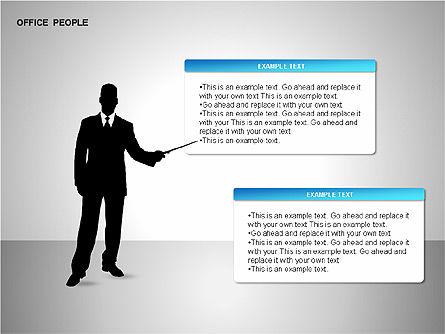 Business Shapes, Slide 3, 00168, Shapes — PoweredTemplate.com