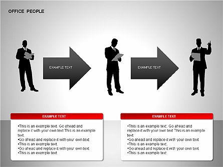 Business Shapes, Slide 5, 00168, Shapes — PoweredTemplate.com